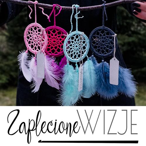 Łapacze snów, mandale, łapacze samochodowe i inne wyroby szydełkowe - Anna Wronka www.zaplecionewizje.pl