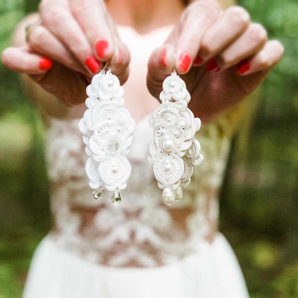 Biżuteria sutasz, kolczyki sutasz, bransoletki sutasz, biżuteria ślubna sutasz Eva Sutasz Leśna Pracownia Ewa Wronka Tuszyn Las 100% Polski wybór